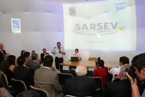 Lanzamiento SARSEV en FIDAE 2010